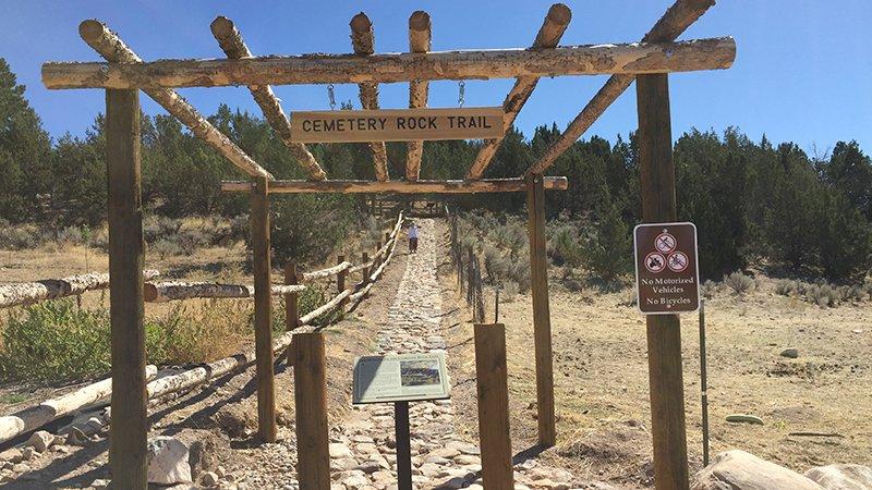 Holden Cemetery Trail