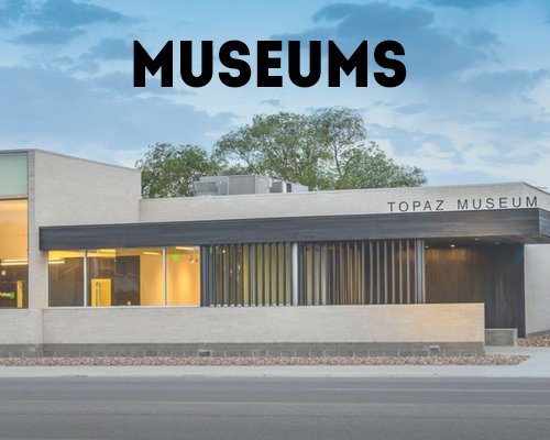 Museums in the Great Basin National Heritage Area