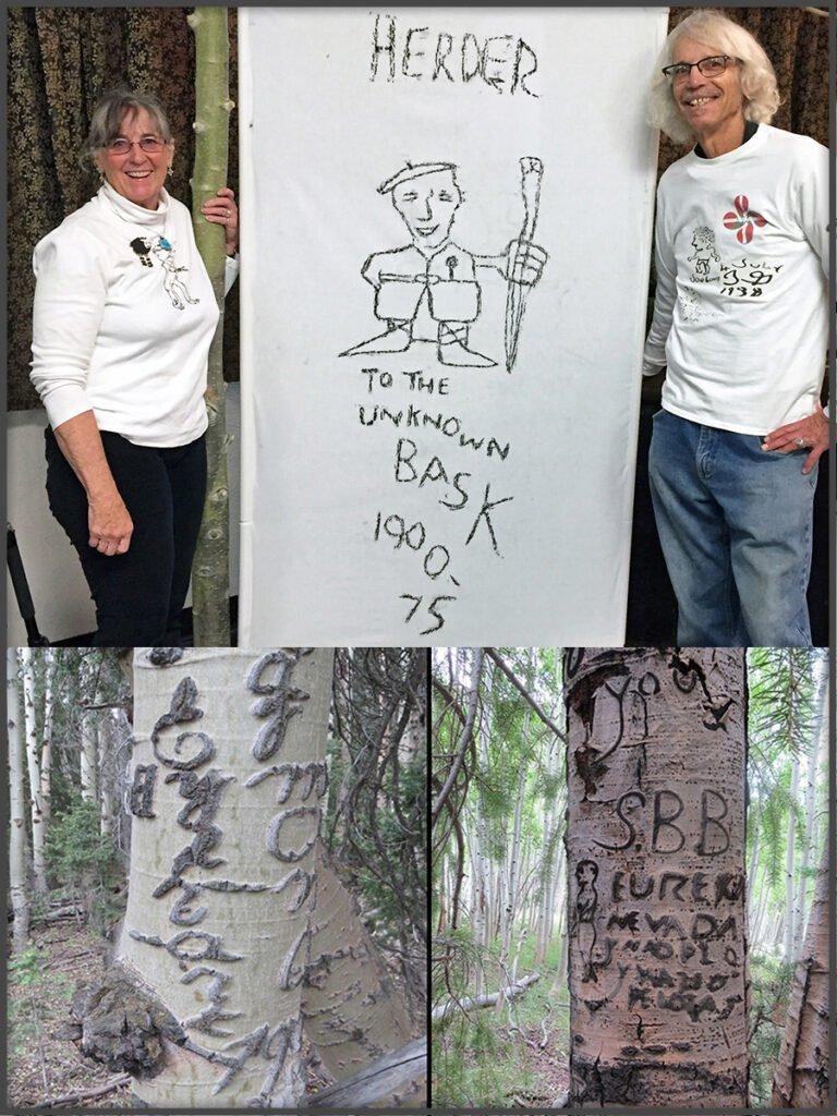 Great Basin Arborglyphs
