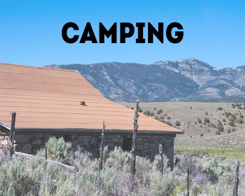 Camping in the Great Basin National Heritage Area
