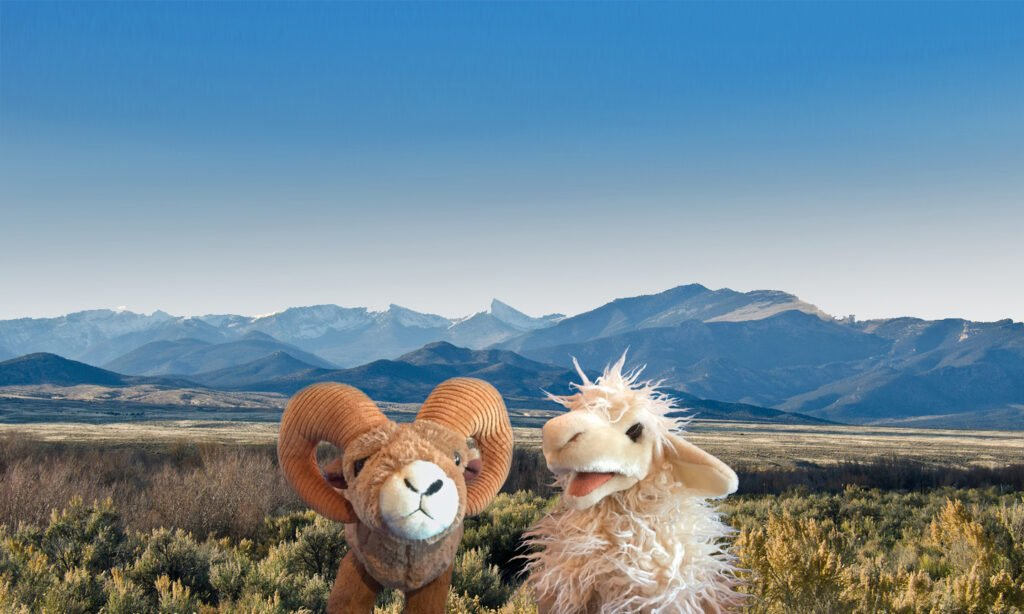Horst & Graben, the Great Basin National Heritage Area mascots