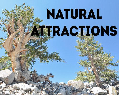 Natural Attractions in the Great Basin National Heritage Area